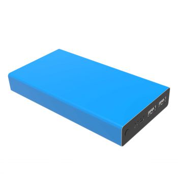 Powerit-Now Powerbank 20000 mAh, Light Blue